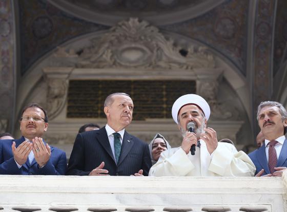 Cumhurbaşkanı Erdoğan, Nusretiye Camisi'nin açılışında konuştu - 04 Mayıs