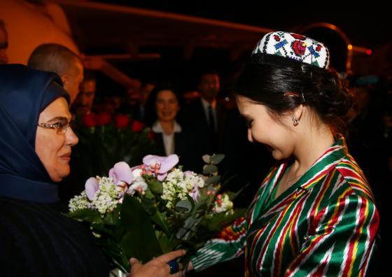 Cumhurbaşkanı Erdoğan Özbekistan'a ulaştı - 29 Nisan