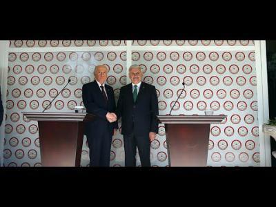 Başbakan Yıldırım ve MHP Genel Başkanı Bahçeli ortak açıklama yaptı