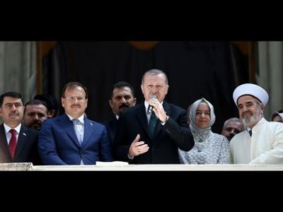 Cumhurbaşkanı Erdoğan, Nusretiye Camisi'nin açılışında konuştu